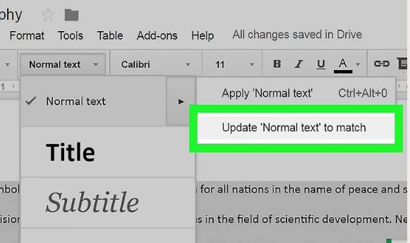 How to Add Double Space in Google Docs 4