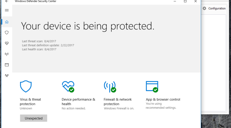 5 Ways To Open Windows Defender in Windows 10