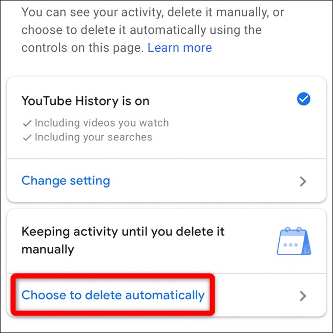 How to Automatically Delete Your YouTube History? (5)