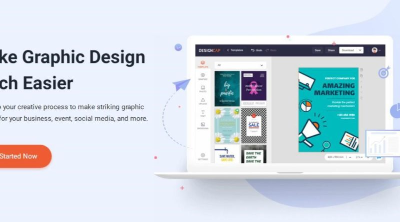 Easily Create Visual Content With DesignCap