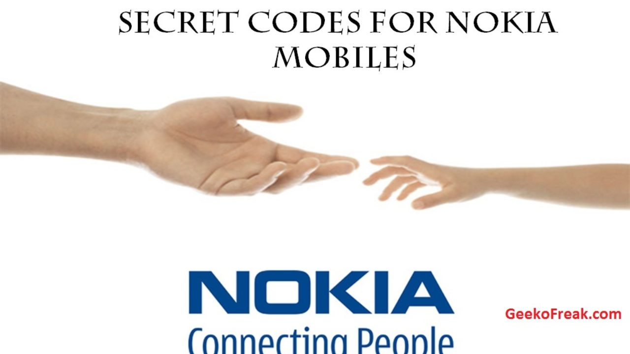 ALL NOKIA SECRET CODES - AndowMac