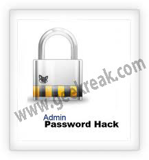 hack admin password