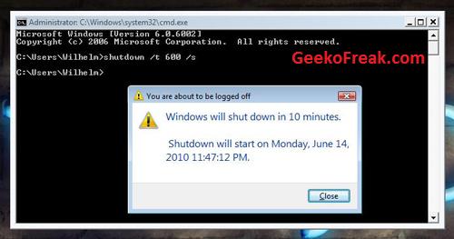 automatic-shutdown