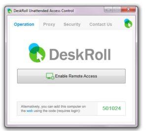 DeskRollUnattendedAccessApp