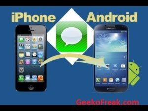 Tranfer iphone to android