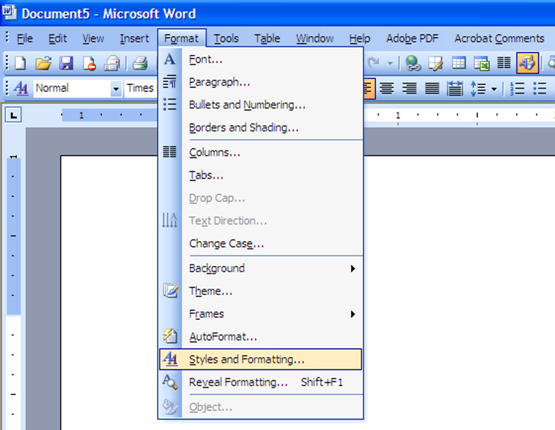 Word2003-03-Styles_and_formatting