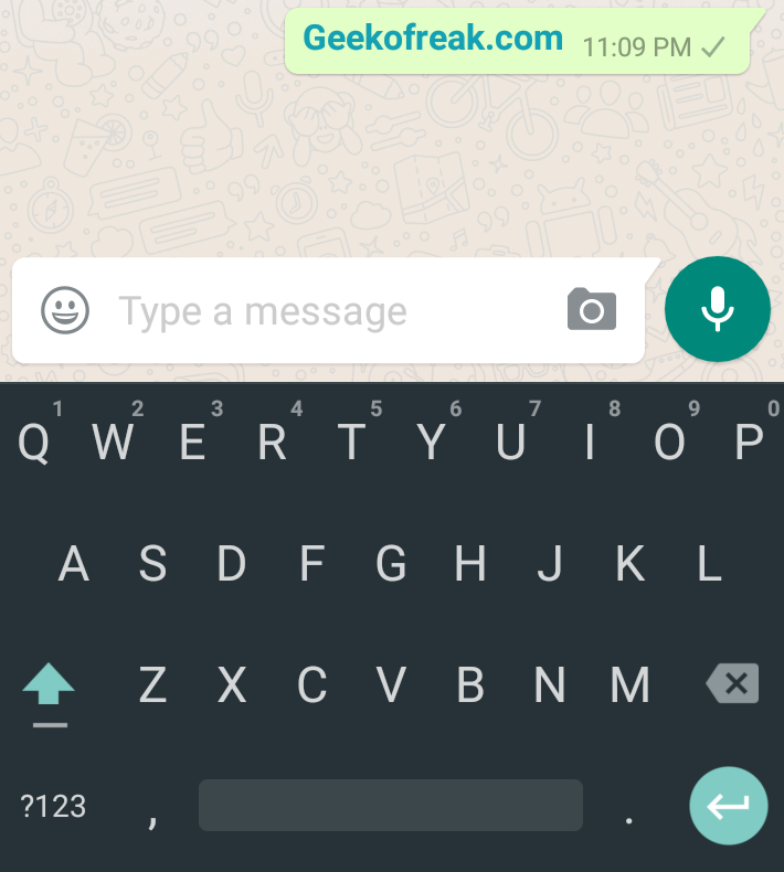 How to type bold in whatsapp 1