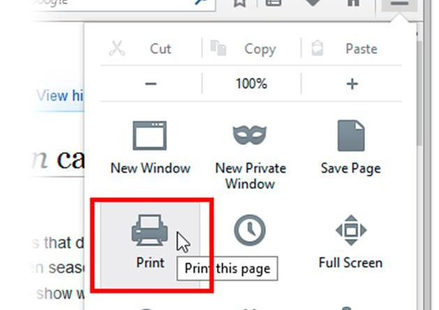 How to fix Firefox Print Preview Error