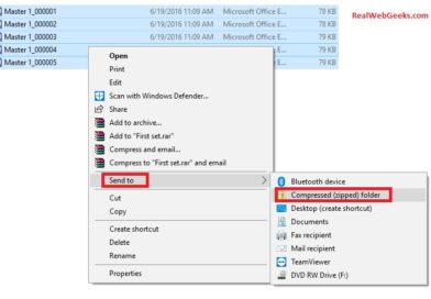 [Guide] How to zip a file in Windows 10
