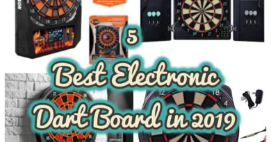 5 Best Electronic Dart Board in 2019 recommended by Users (Updated February, 2019)