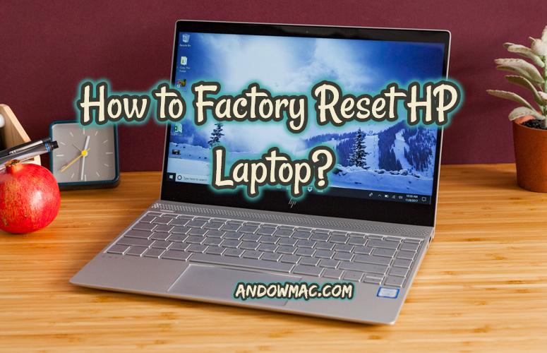 reset an hp laptop
