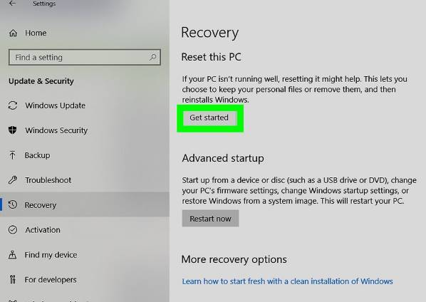 How to Factory Reset HP Laptop 3