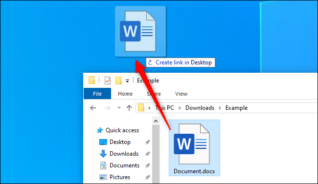 How To Create Quick Desktop Shortcuts on Windows 10? (14)