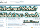 Extratorrent Blocked? Unblock it in 60 Seconds