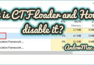 What is CTF Loader and How to disable it?