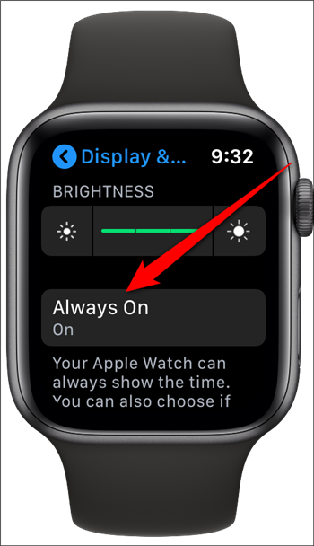 How to Disable the Apple Watch's Always-on Display? (4)