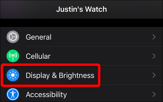 How to Disable the Apple Watch's Always-on Display? (7)