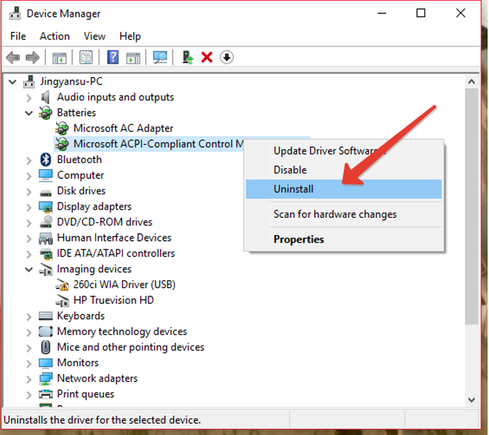 What If Windows 10 Laptop Plugged-In Battery Not Charging? (5)