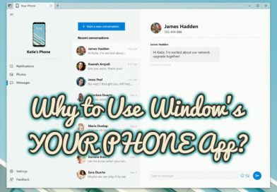 Why to Use Window's YOUR PHONE App?