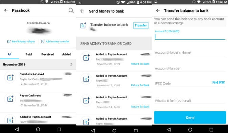 How to Transfer Money from Paytm to Bank Account? (1)